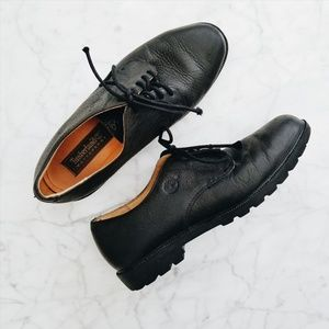 Timberland Waterproof Pebbled Leather Oxfords 9.5M